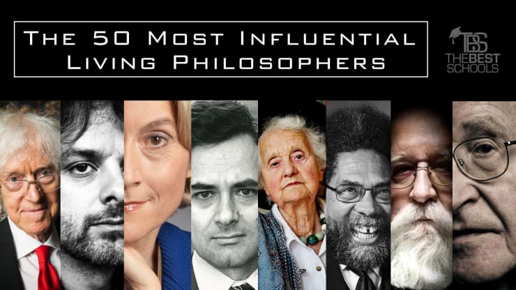 The 50 Most Influential Living Philosophers | TheBestSchools org