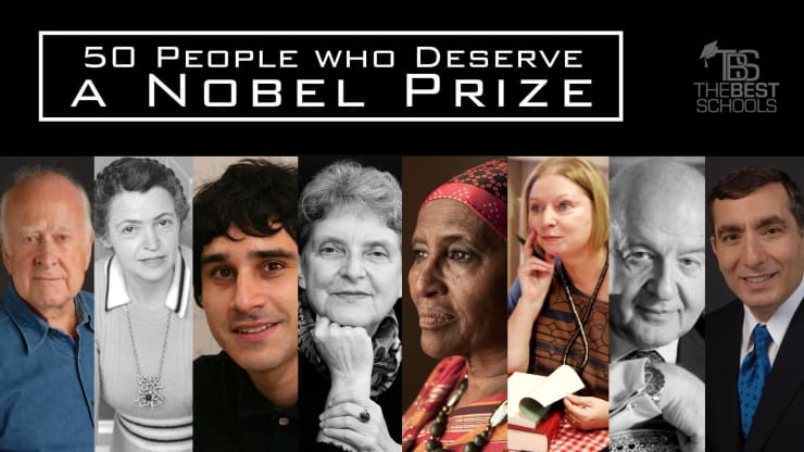 50 People Who Deserve a Nobel Prize | TheBestSchools org