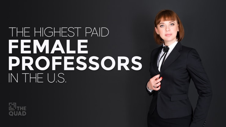 the highest paid female professors in the us