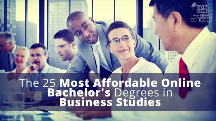 The 25 Most Affordable Online Bachelor S Degrees In Business Studies
