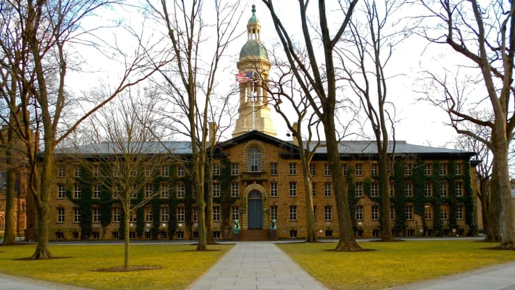 Princeton University, Nassau Hall