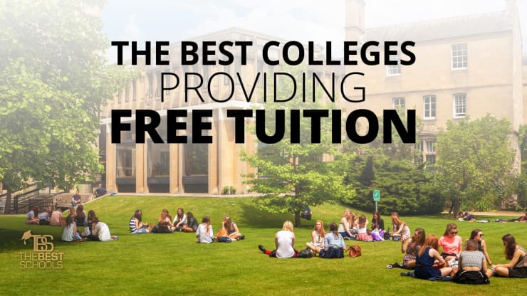 The Best Colleges Providing Free Tuition Text
