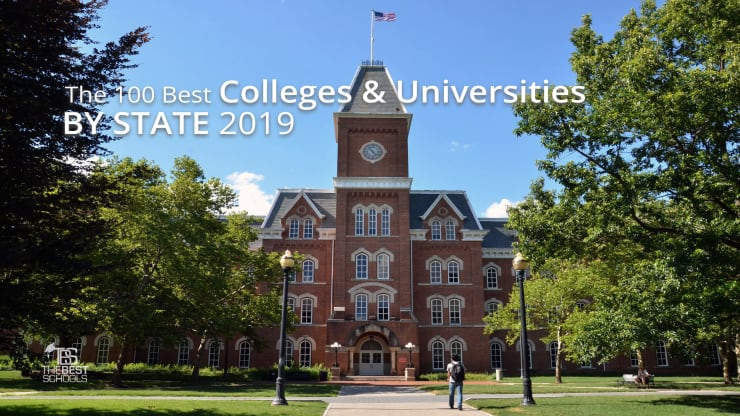 The 100 Best Colleges & Universities by State 2019 ... Sc Of And Map Ga Universigies on