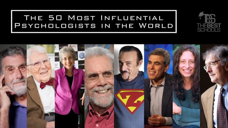 The 50 Most Influential Living Psychologists in the World