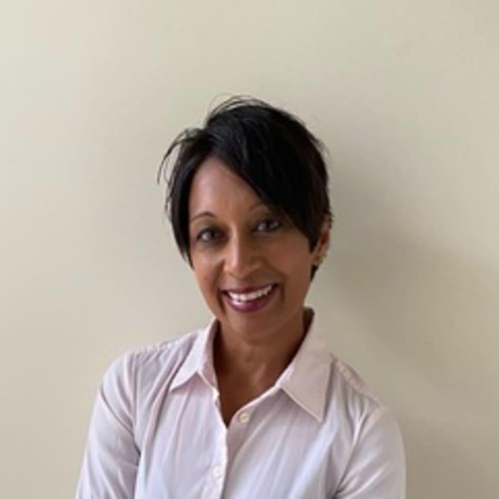 portrait of Shrilekha Deshaies, MSN, CCRN, RN
