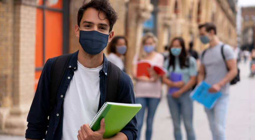 Students Want More Flexibility Amid Campus Vaccine and Mask Mandates