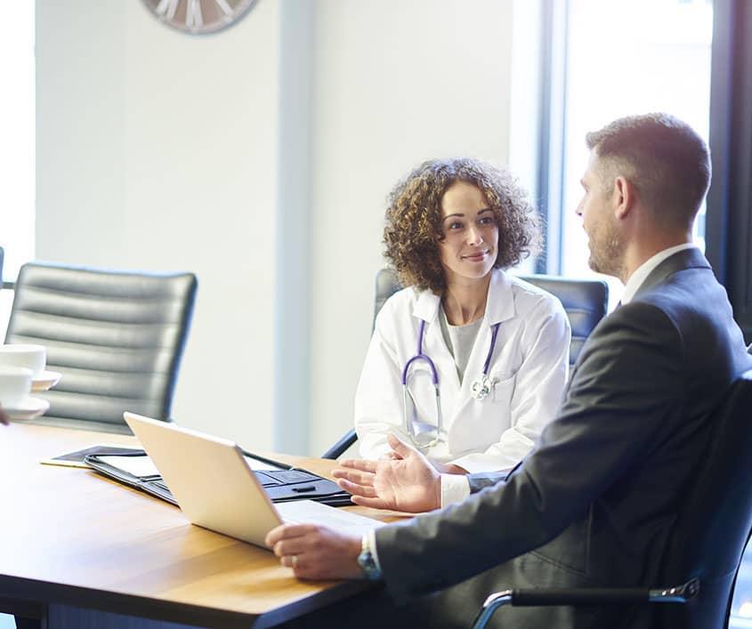 Hero Image Affordable Online Master's In Healthcare Management