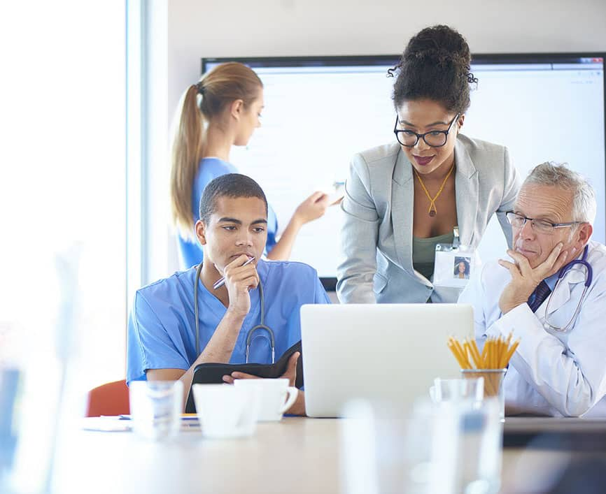 Hero Image Most Affordable Online Master's in Health Informatics