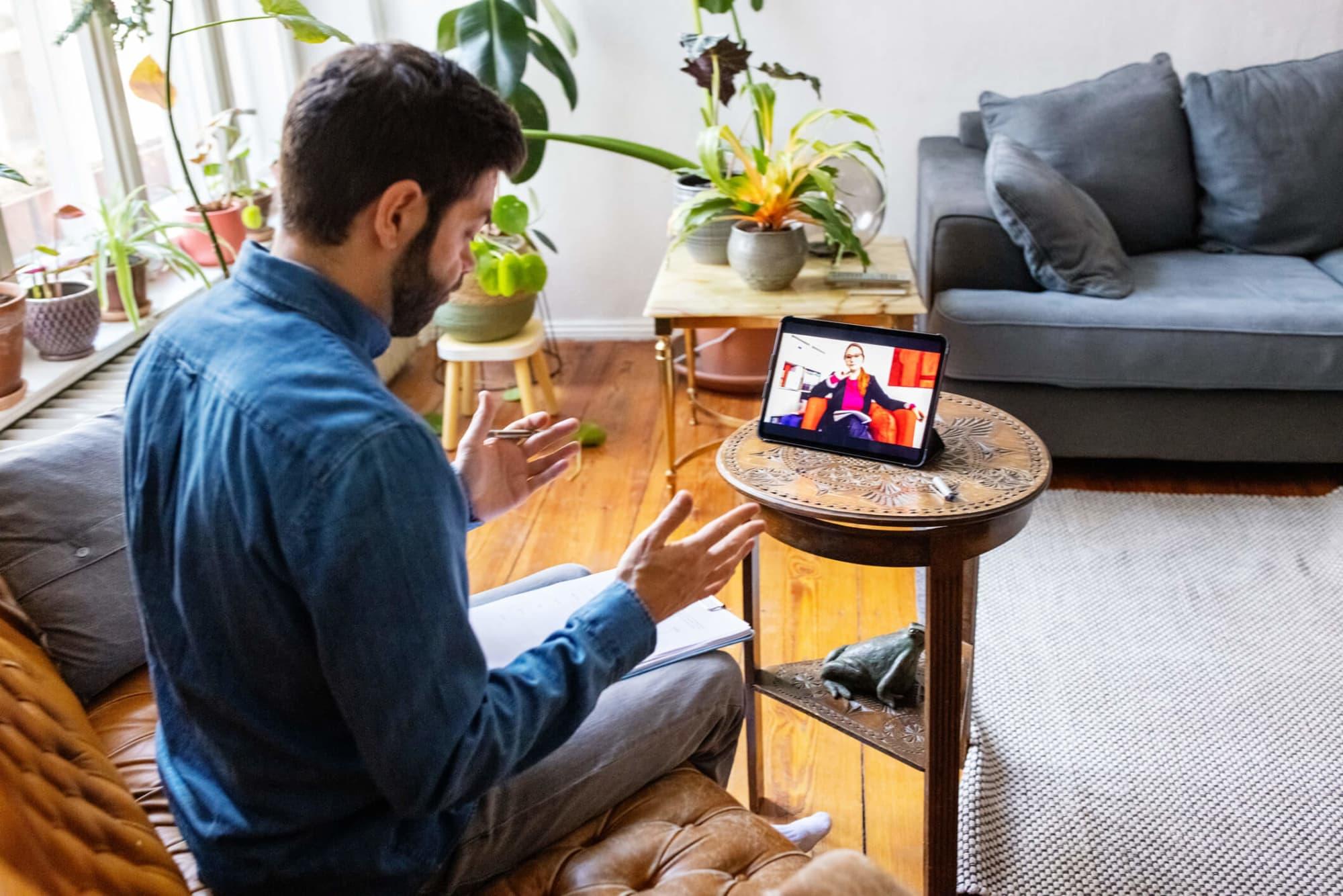 Hero Image Virtual Therapy vs. In-Person Therapy