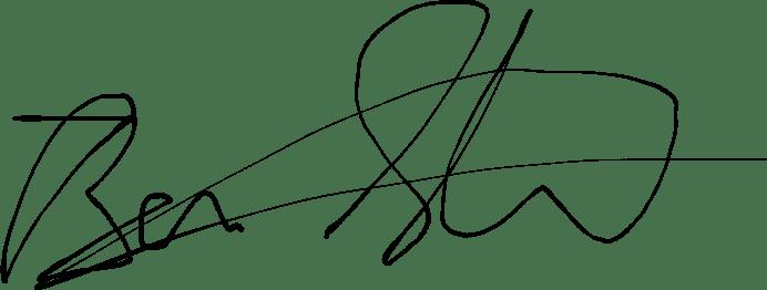 Ben Strauss Signature