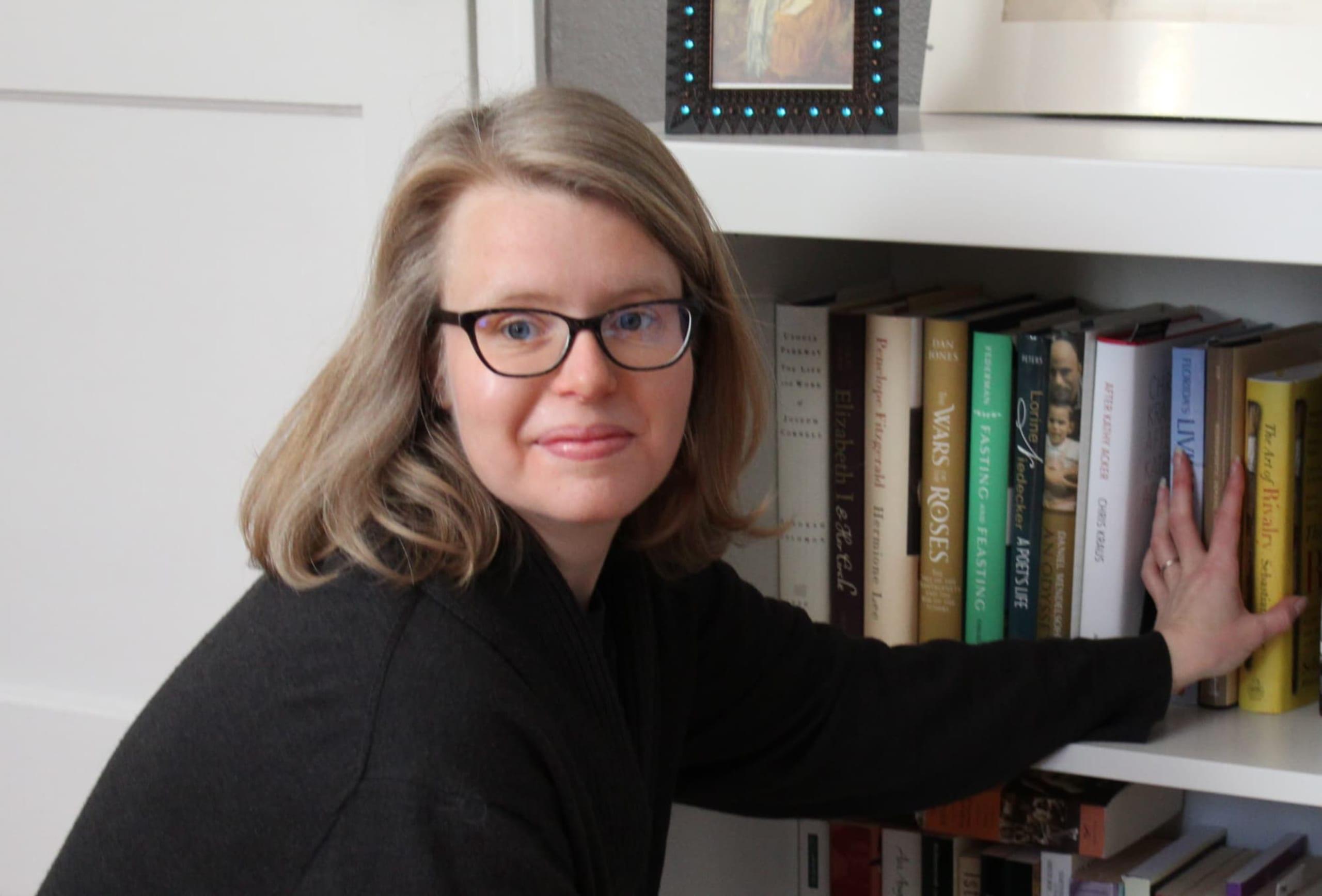 portrait of Amy Mallory-Kani, PhD