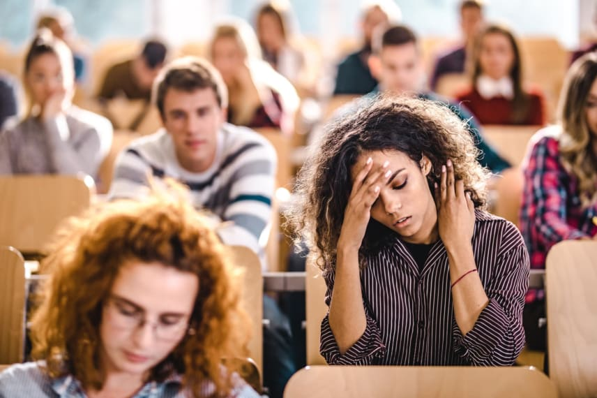 College Students with PTSD