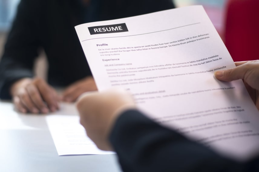 Resumé Writing Tips for an MBA Application