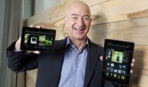Jeff Bezos & Kindle Fire HDX