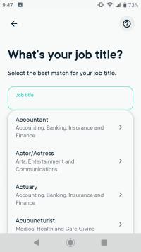 Enter your job title