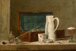Thumbnail for Jean-Siméon Chardin, Pipes and Drinking Pitcher, 1737