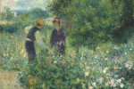 Thumbnail for Picking Flowers, 1875, Auguste Renoir.
