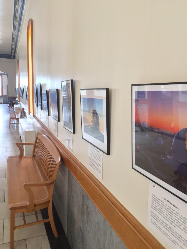 Hallway with Photos