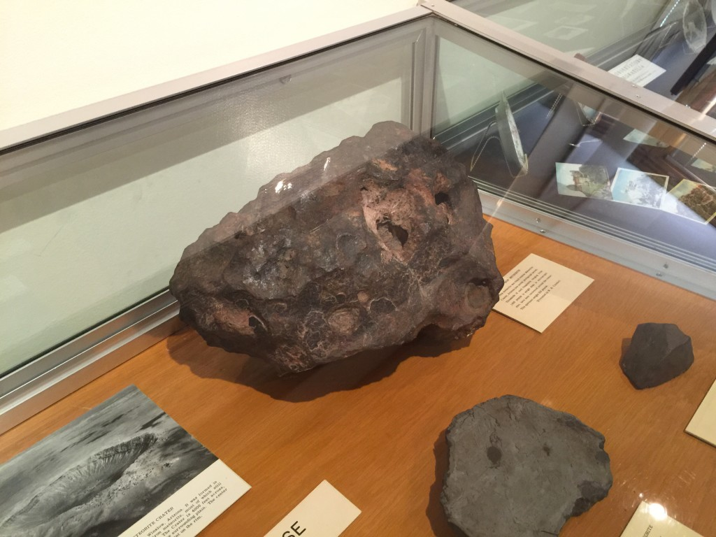 Meteorite that weighs 200lbs