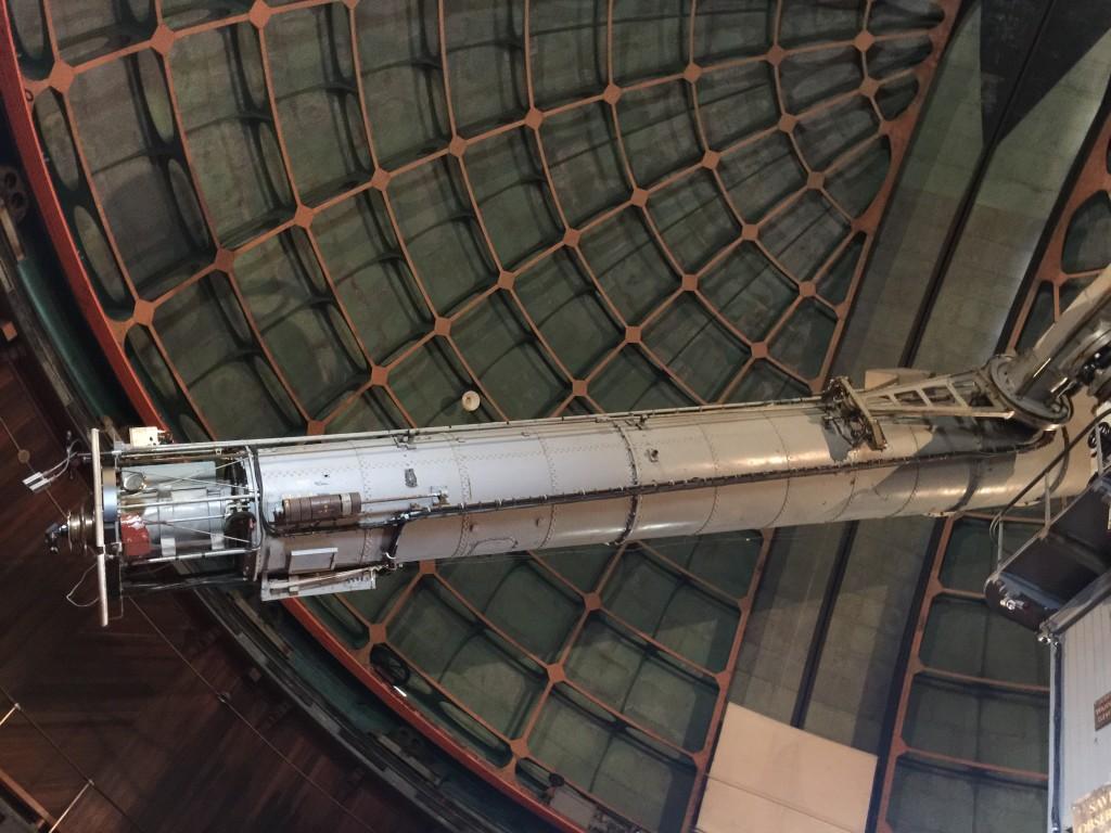 Telescope in Dome