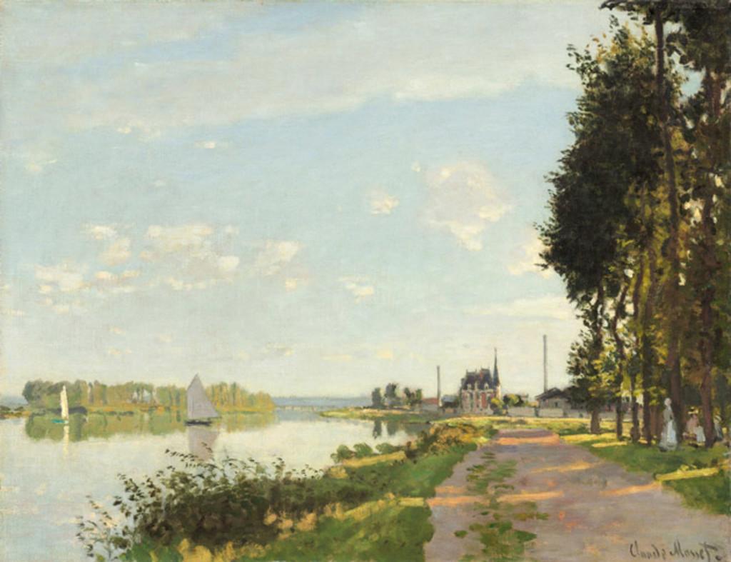 Argenteuil, CA. 1872, Claude Monet.