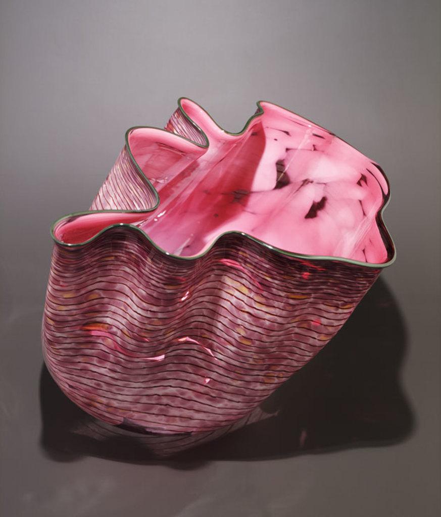 Pink Macchia Single, 1986, Dale Chihuly.