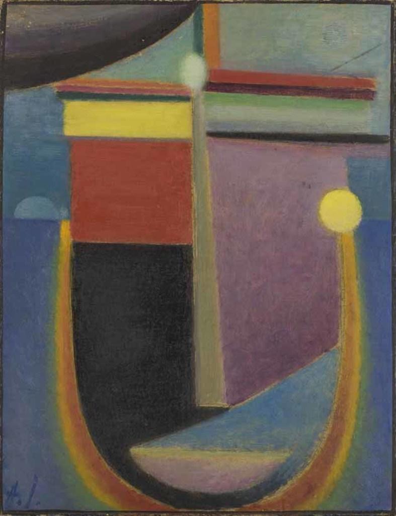 Mondlicht, 1925, Alexei von Jawlensky.