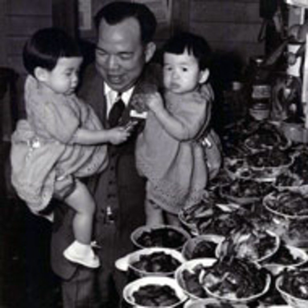 Chinese Father with Children