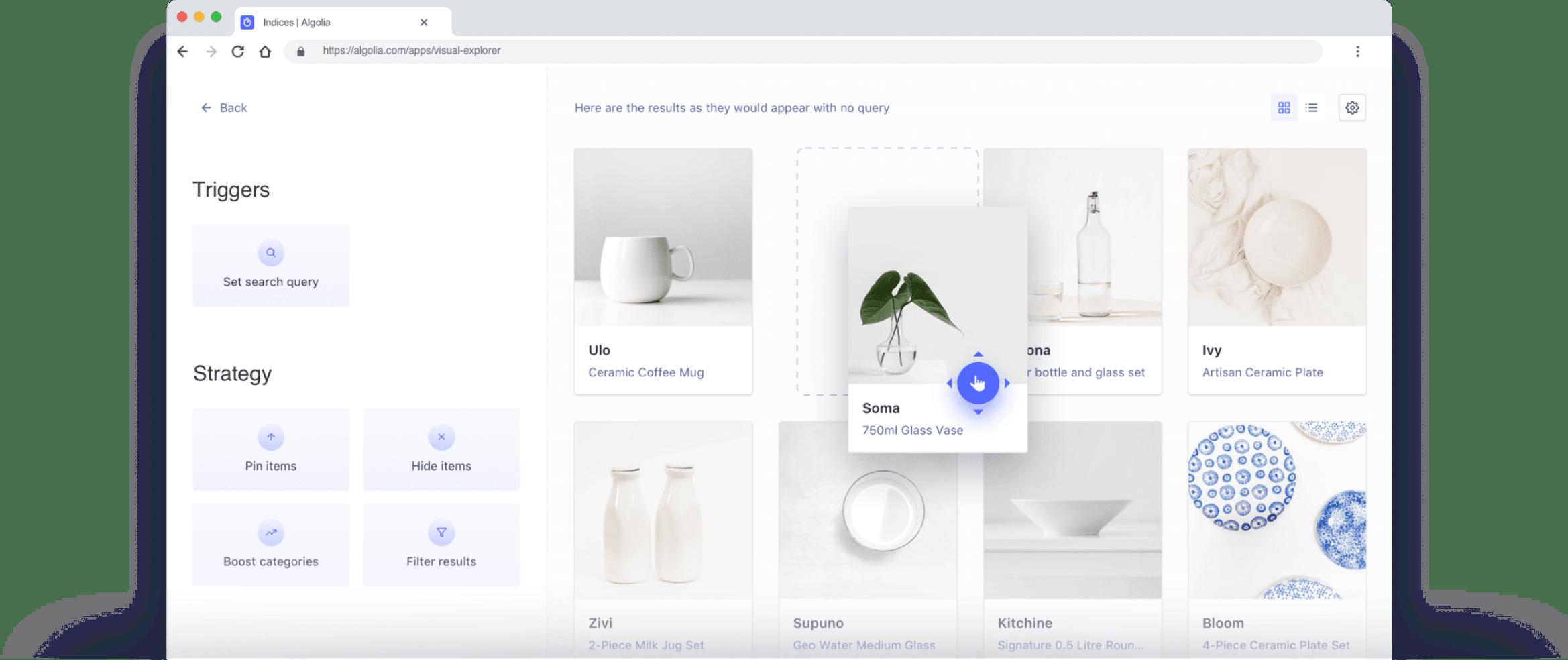 Ecommerce search personalization illustration