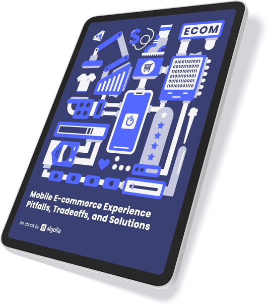 Cover for the Mobile Ecommerce Experience Pitfalls, Tradeoffs and Solutions ebook