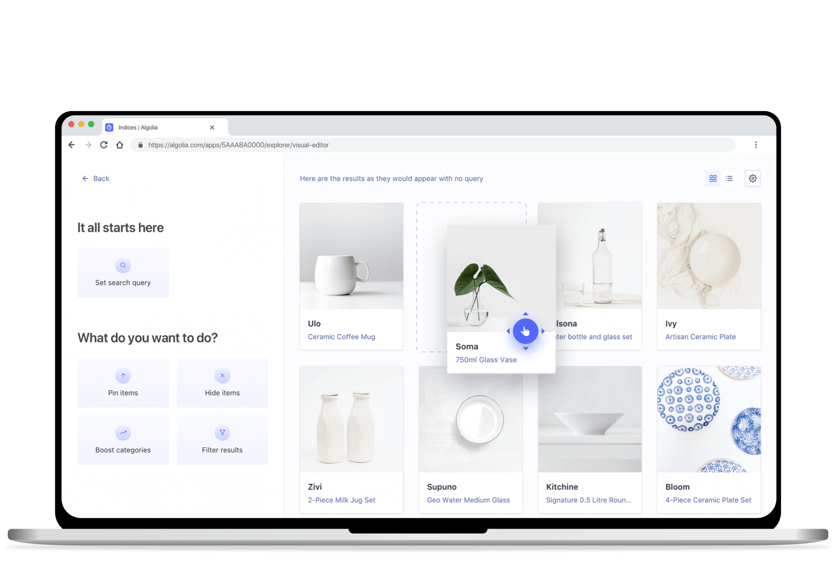 Pre-built tools to tailor and control the experience illustration