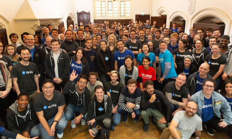 Picture of some algolia employees