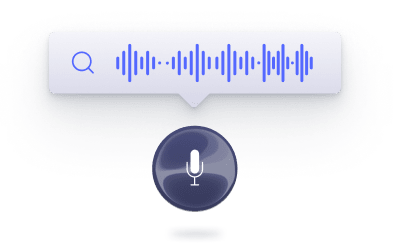 Illustration for Voice Search