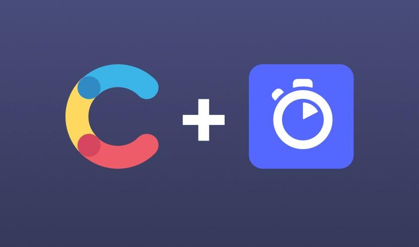 Contentful logo plus Algolia logo