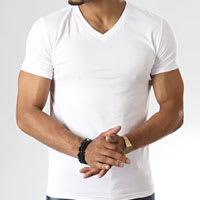 V-neck tshirt for man