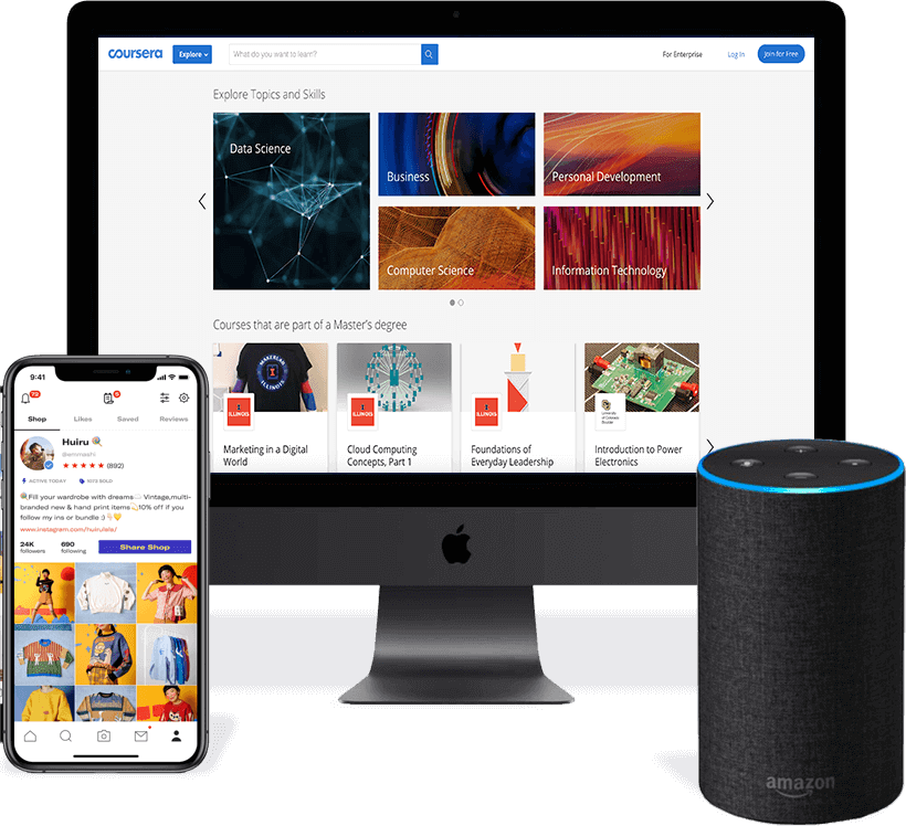 Devices mobile desktop voice