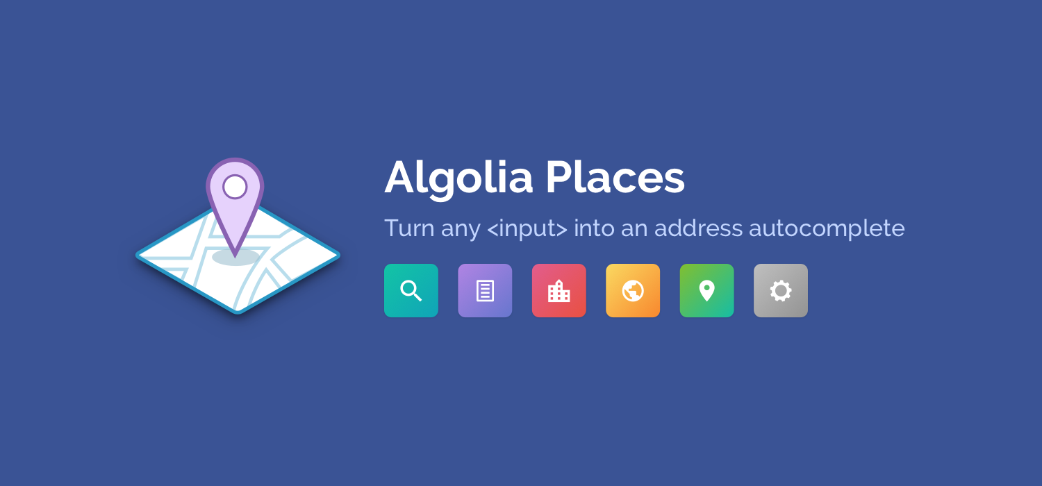 Algolia Places | Examples