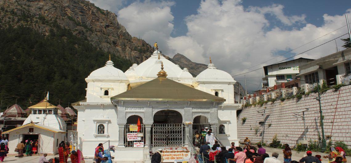 Char dham yatra, gangotri Temple