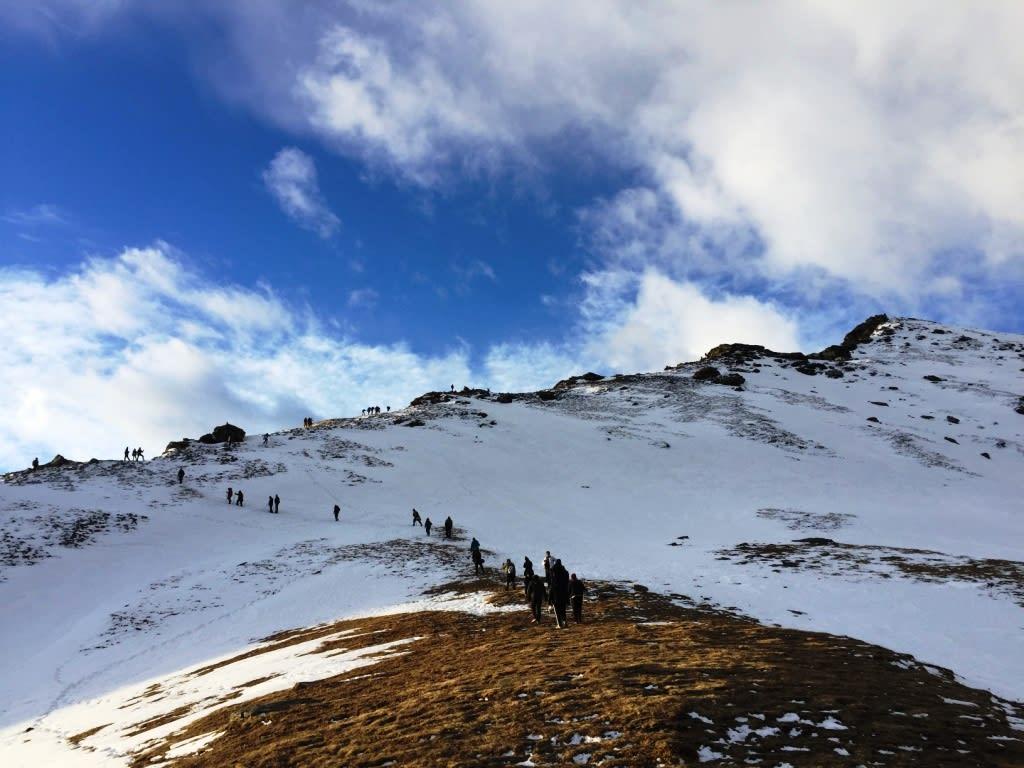 Kedarkantha Trek winter treks in India