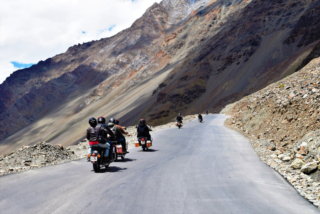 Srinagar Leh Manali Motorcycle Expedition
