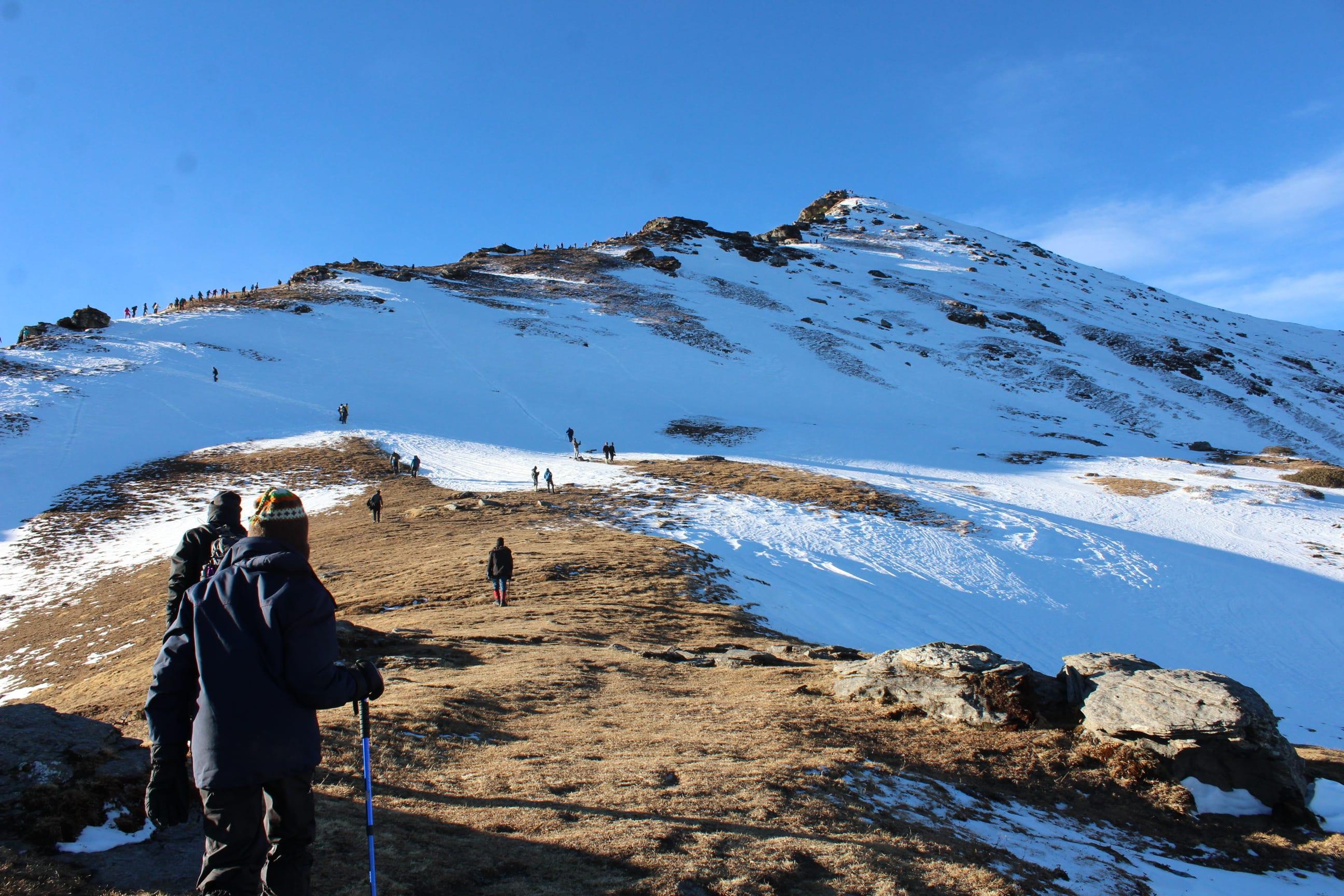 kedarkantha trek- Best treks in January