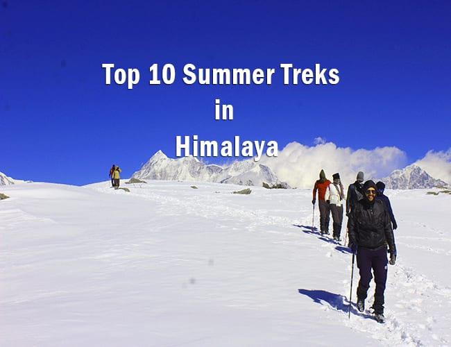top 10 summer treks