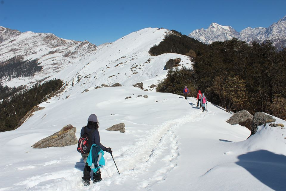brahmatal trek best season