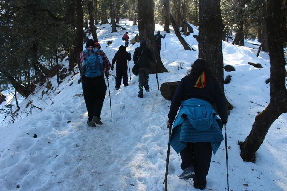 best winter treks in india