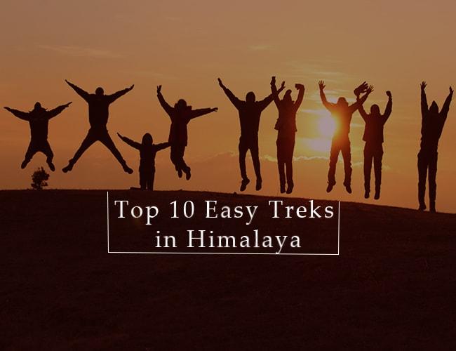 easy treks in himalaya