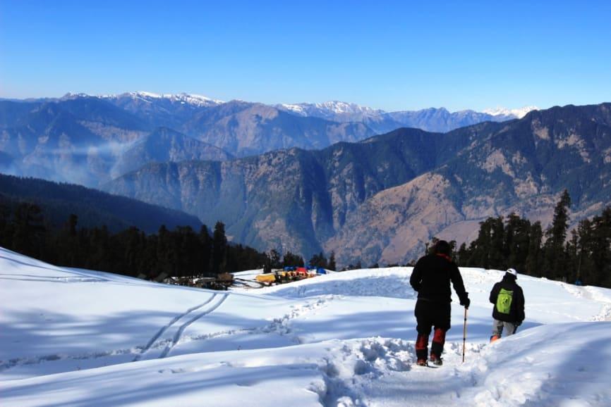 kedarakantha peak winter