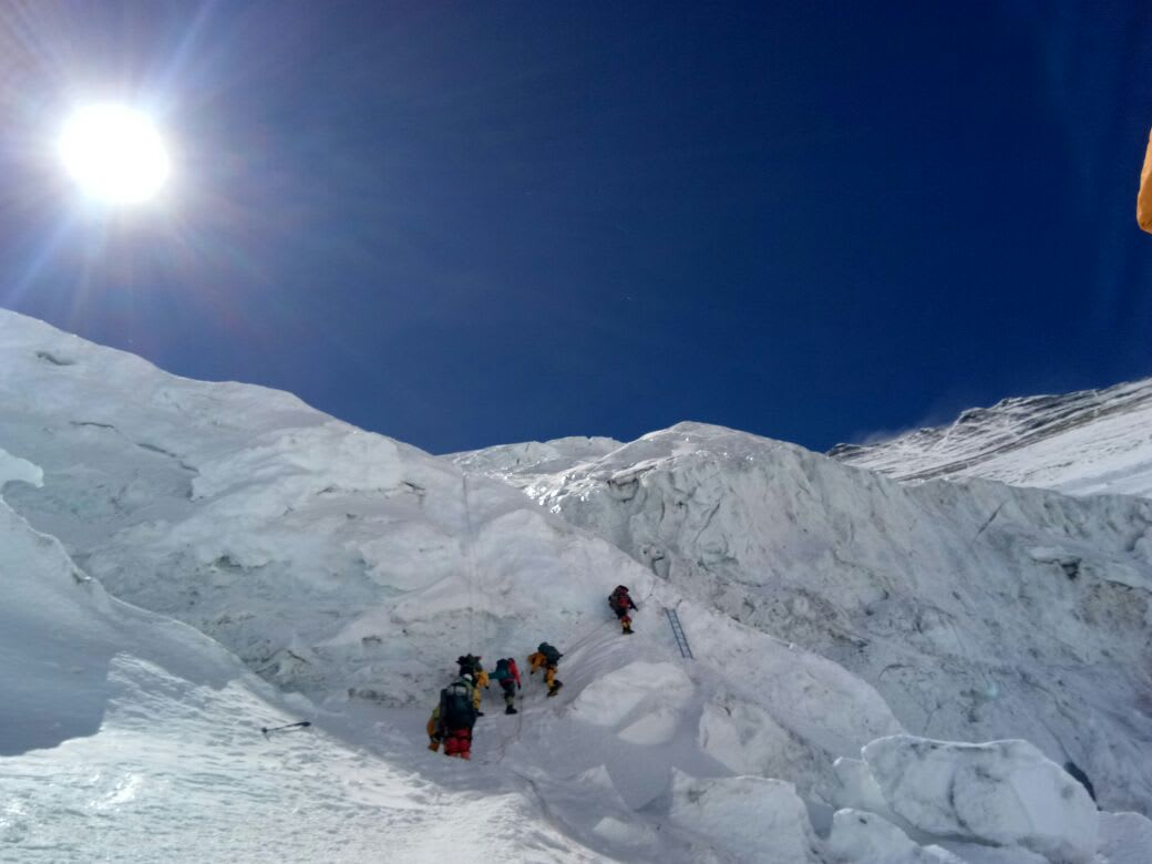 Traills pass expedition