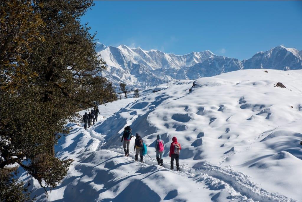 Brahmatal trek - Top 10 Best treks in Uttarakhand Himalayas