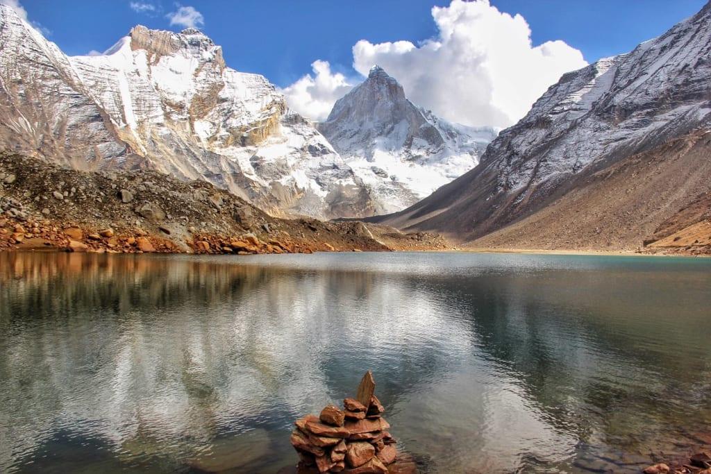 Kedartal trek - Top 10 Best treks in Uttarakhand Himalayas