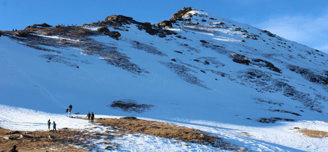 Kedarkantha winter trek in December